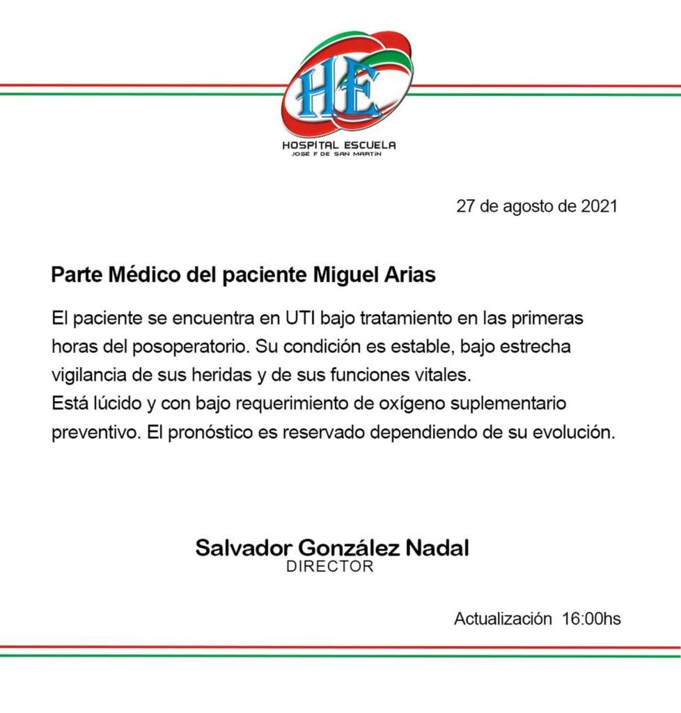 Video: así balearon al diputado Miguel Arias en Corrientes