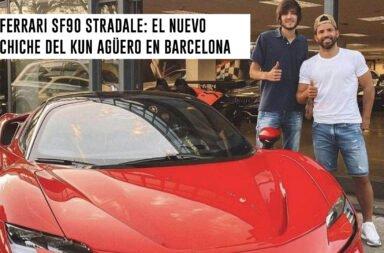 Ferrari SF90 Stradale: El nuevo chiche del Kun Agüero en Barcelona