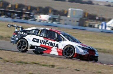 Rossi se destacó en La Pampa y se quedó con un gran triunfo en el Súper TC2000