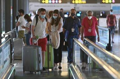 España viajeros covid
