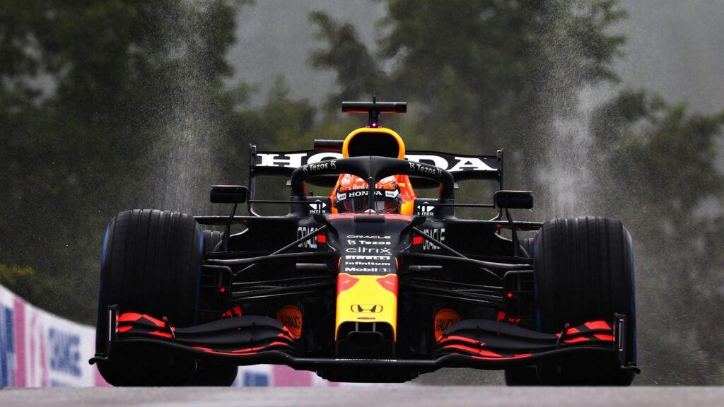 ¡Papelón histórico de la F1! Verstappen ganó en Bélgica con sólo 3 vueltas disputadas