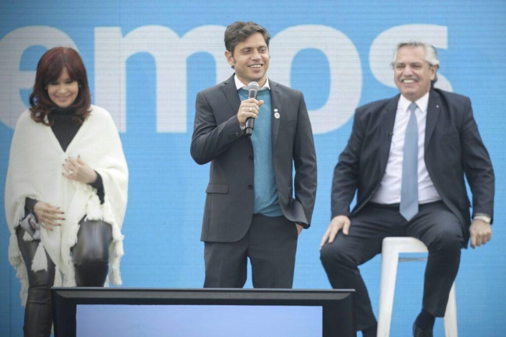 El plenario del Frente de Todos en La Plata volvió a mostrar unidos a Cristina y Alberto: