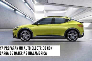 Ya preparan un auto eléctrico con carga de baterías inalámbrica