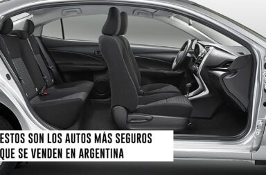 Estos son los autos más seguros que se venden en Argentina