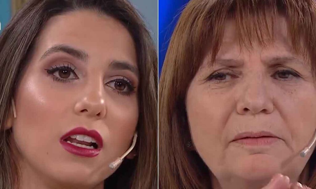 Fuerte cruce entre Patricia Bullrich y Cinthia Fernandez en La Noche de Mirtha Legrand