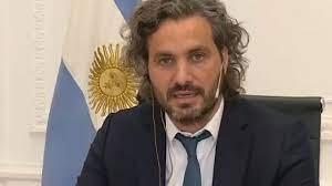 El jefe de gabinete nacional Santiago Cafiero