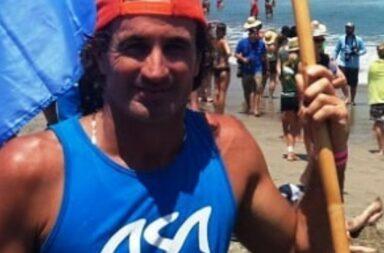 Carlos Di Pace el surfista argentino