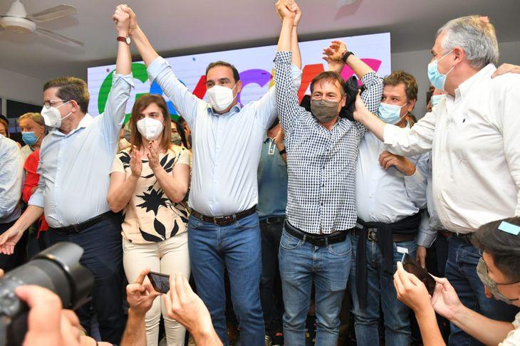 Corrientes: Valdés arrasó en las elecciones y le dedicó el triunfo al diputado baleado