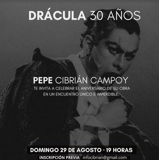 Pepe Cibrián celebrará de una forma muy particular los 30 años de Drácula