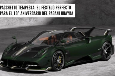 Pacchetto Tempesta: El festejo perfecto para el 10° aniversario del Pagani Huayra