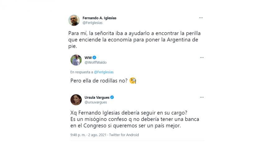 Piden que Fernando Iglesias sea excluido del Congreso por sus comentarios misóginos