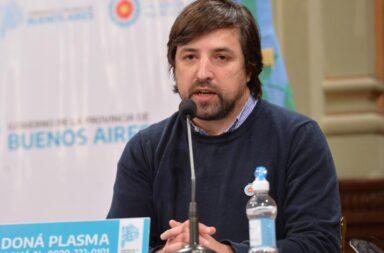 El ministrto de Salud bonaerense Nicolás Kreplak