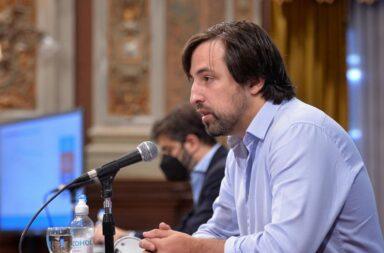El ministro de Salud Nicolás Kreplak informó del prime caso comunitaio de la variante Delta