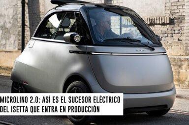 Microlino 2.0: Así es el sucesor eléctrico del Isetta que entró a producción