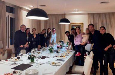 La foto del cumpleaños de Fabiola Yañez en Olivos en plena cuarentena