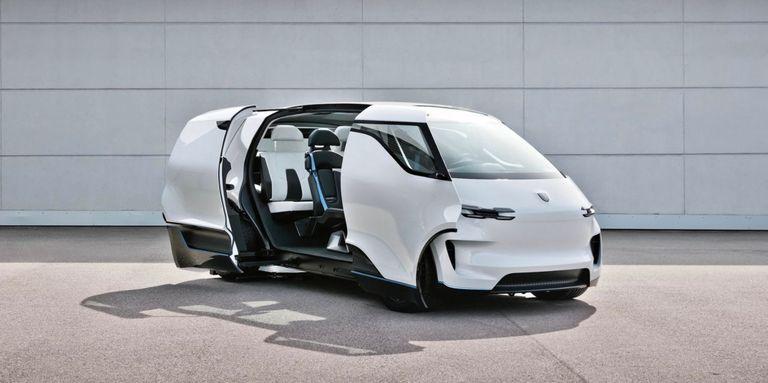 La visión futurista que tiene Porsche para los interiores de los autos