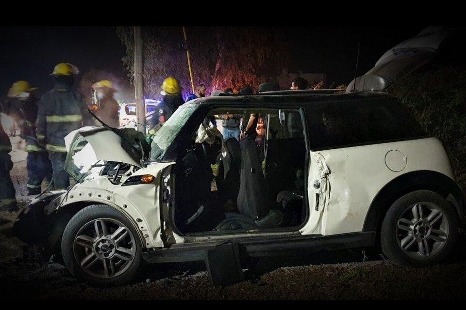 Accidente en San Pedro