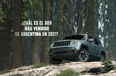 ¿Cuál es el SUV más vendido de Argentina en el 2021?