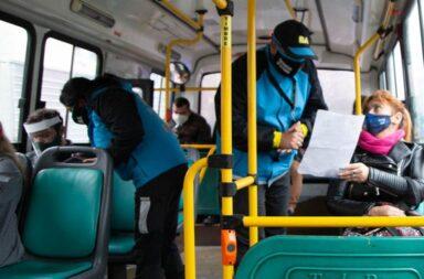 Aumentó la cantidad de personas que pueden viajar en el transporte público