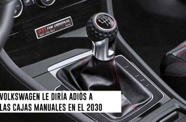 Volkswagen le diría adiós a las cajas manuales en el 2030