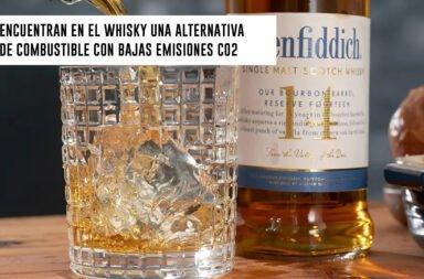 Encuentran en el whisky una alternativa de combustible con bajas emisiones de CO2