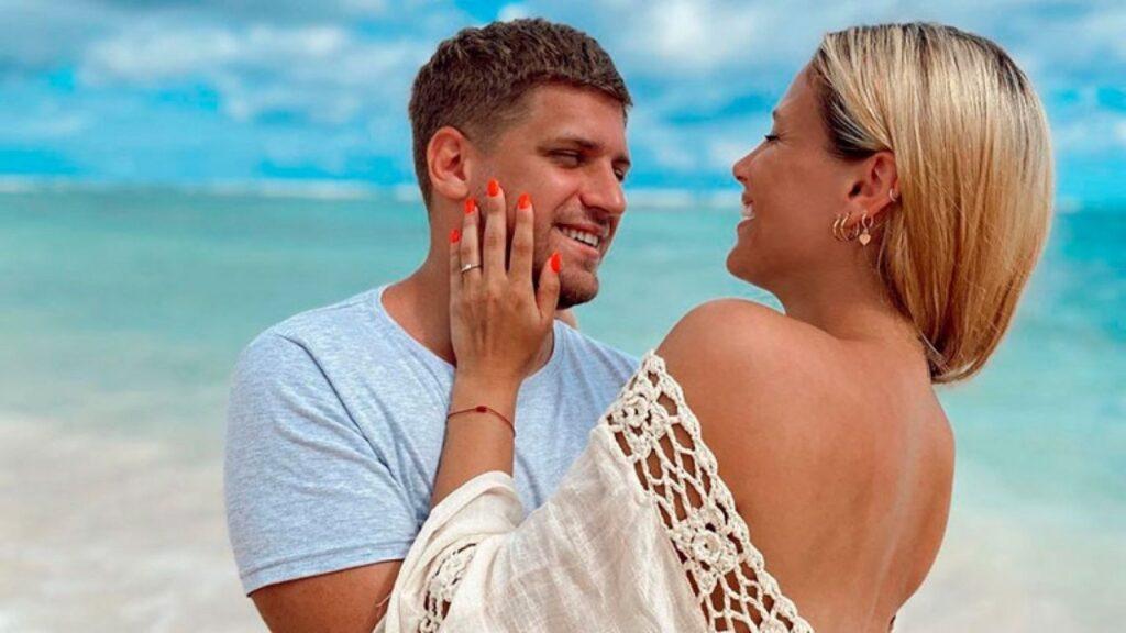 Barbie Vélez y Lucas Rodríguez: la alegría del casamiento por Civil y la ansiedad por la fiesta del sábado