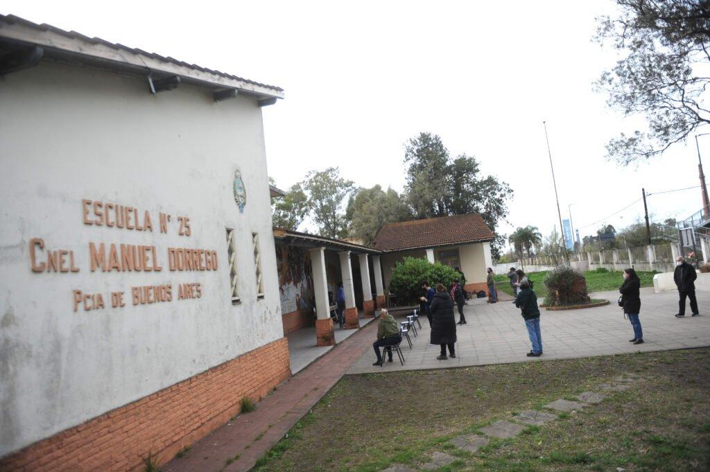 Mesas electorales en La Plata