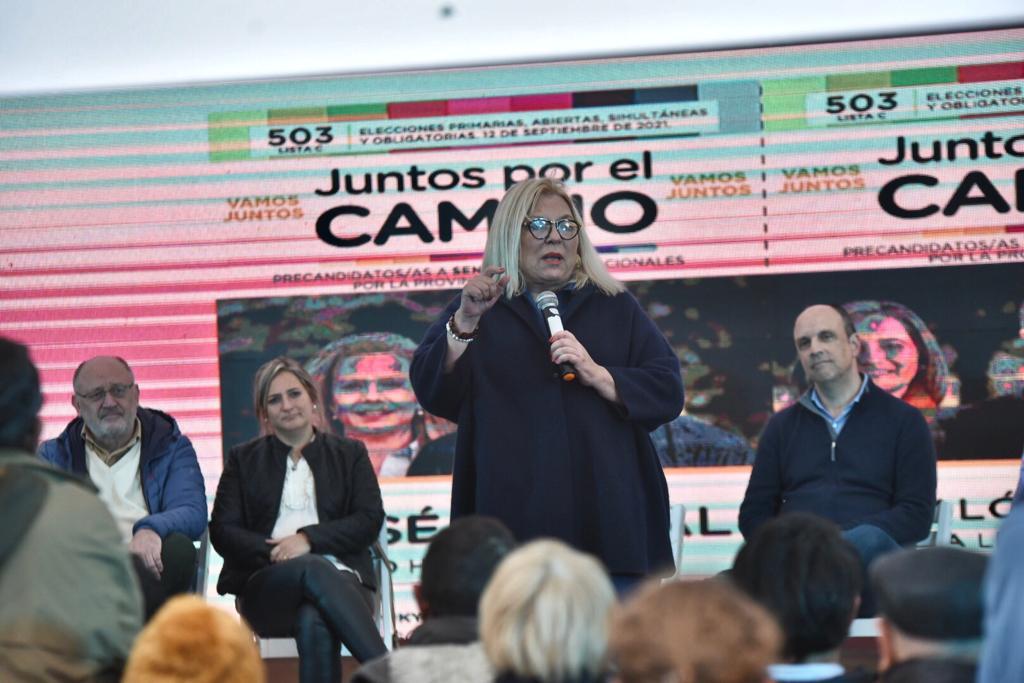Carrió admitió que frenaron tres golpes internos durante el gobierno de Macri