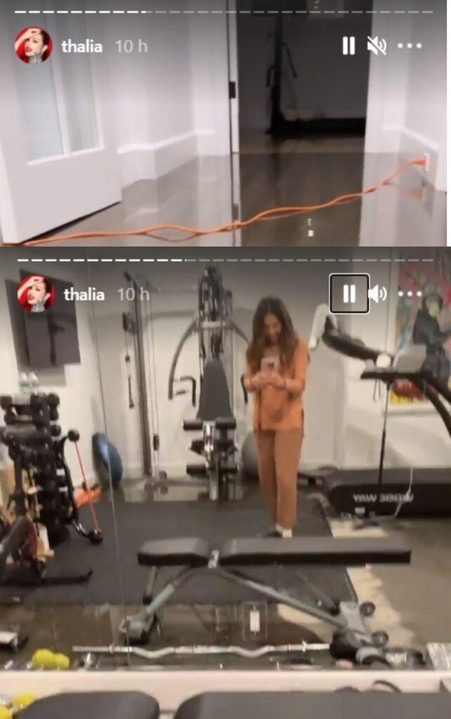 El drama de Thalia: se le inundó la casa de Nueva York