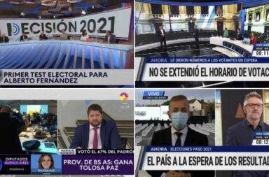 El rating de las Paso 2021: las elecciones alcanzan 28.9 puntos