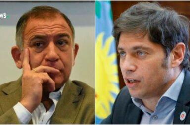 Luis Juez y Axel Kicillof
