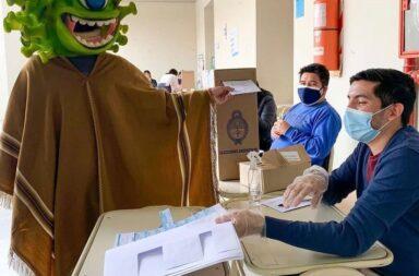 ¡Votó el Coronavirus!