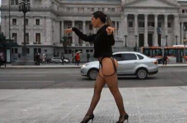 Cinthia Fernández y su polémico spot