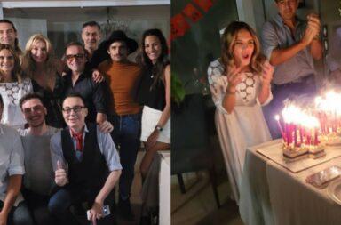 Amalía Granata festejando su cumpleaños en pleno aisalmiento sin las medidas correspondientes