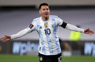 Messi y su noche soñada con la celeste y blanca