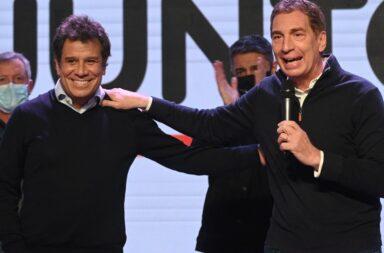 Facundo Manes y Diego Santilli.