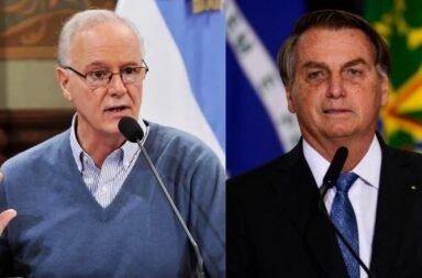 Daniel Gollán criticó los dichos de jair Bolsonaro luego del papelón con la suspensión del partido Argentina-Brasil