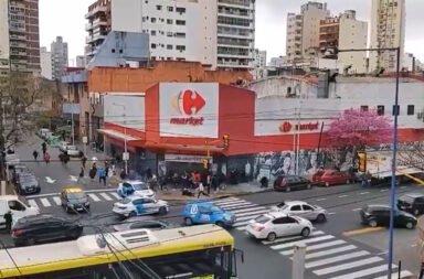 Dos facciones de la barra de Independiente se enfrentaron a tiros en el centro de Independiente