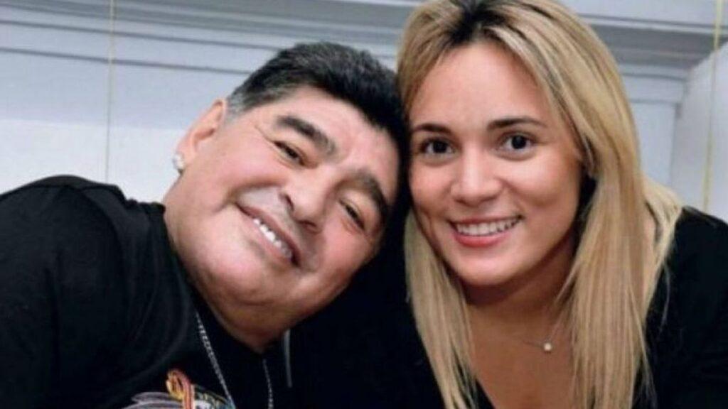 Rocío Oliva Diego Maradona