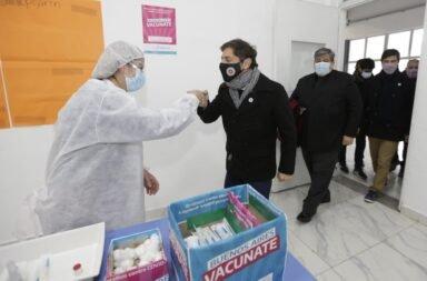 Kicillof anuncio vacuna libre segunda dosis para mayores de 60