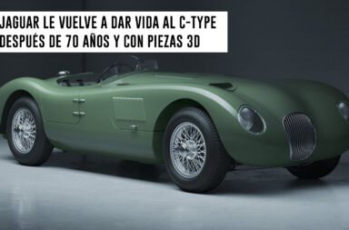 Jaguar le vuelve a dar vida al C-Type después de 70 años y con piezas 3D