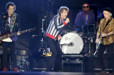 Los Rolling Stones volvieron al ruedo sin Charlie Watts