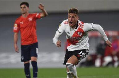 River -Independiente y un empate que no les sirvió
