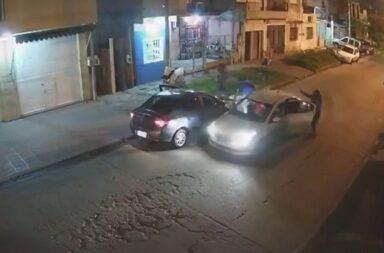 El omento donde los delincuentes roban el 0 Km en Isidro Casanova