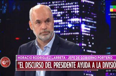 Rodriguez Larreta habló del sistema de indeminizaciones