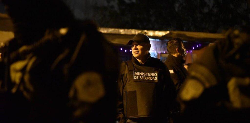 Sergio Berni encabezó un mega operativo en Rosario