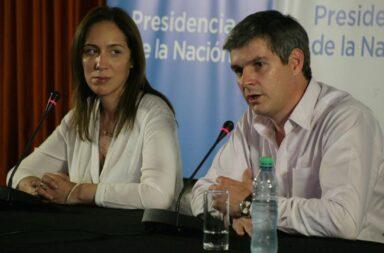 Marcos Peña vuelve con María Eugenia Vidal