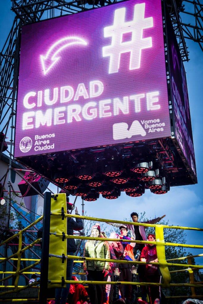 Durante tres días, Buenos Aires vibrará al ritmo del Festival Ciudad Emergente 2021