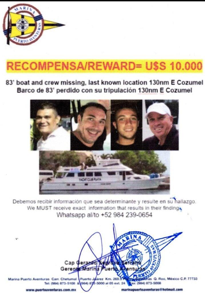 Ofrecen 10.000 dólares de recompensa para dar con los argentinos desaparecidos en México