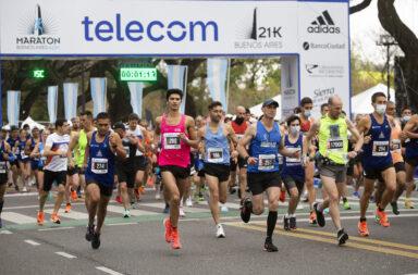 Hubo 13 mil participantes en el Maratón de Buenos Aires